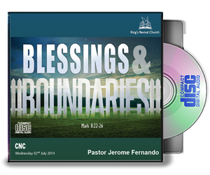 Blessings & Boundaries - Pastor Jerome