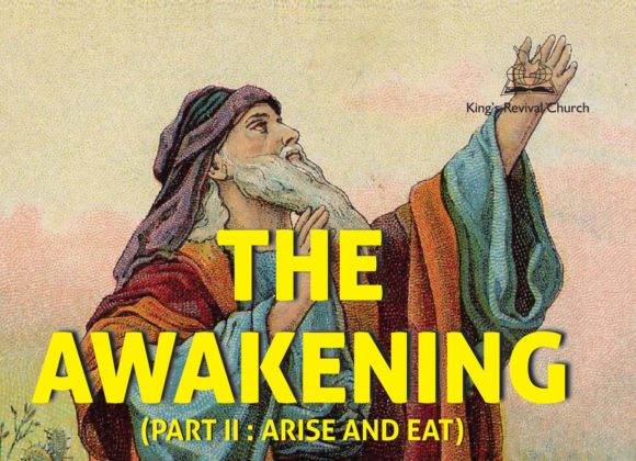 ARISE AND EAT – Part II