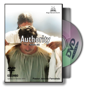 Authority - Pastor Jerome Fernando (DVD)