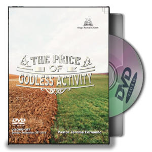 The Price Of Godless Activity (DVD)