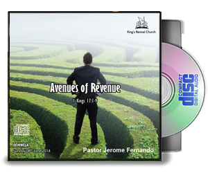 Avenues of revenue - Pastor Jerome