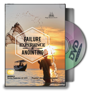 Failure Experience & Anointing (DVD)
