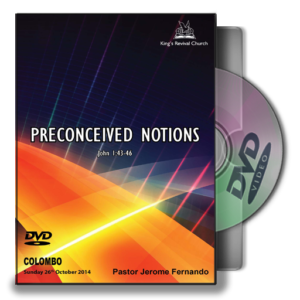 Preconceived Notions - Pastor Jerome