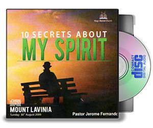 10 Secrets About My Spirit. - Pastor Jerome
