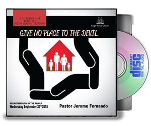 Give No Place To The Devil (3CD's)