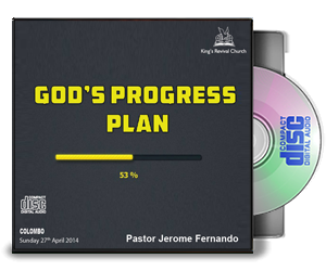 God's Progress Plan - Pastor Jerome
