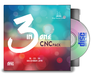 3 IN ONE CNC PACK - 3CD'S
