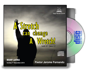 A Stretch Can Change a Wretch