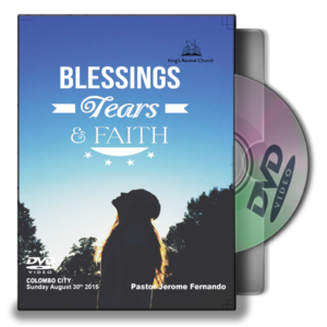 Blessing Tears and Faith - Pastor Jerome