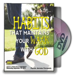 Habits That Maintains Your Walk With God