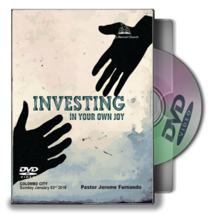 Investing In Your Joy - By Pastor Jerome (DVD)
