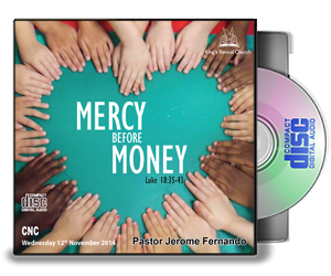 Mercy before Money