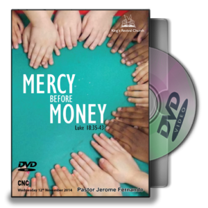 Mercy before Money (DVD)