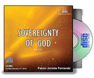 Sovereignty Of God - Pastor Jerome