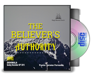The Believer's Authority - Pastor Jerome