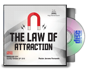 The Law Of Attraction -Pastor Jerome Fernando
