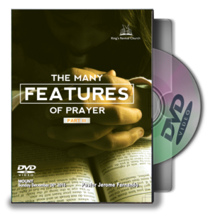 The Many Features Of Prayer - Part III (DVD)