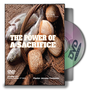 The Power Of A Sacrifice - Pastor Jerome (DVD)
