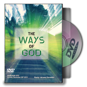 The Ways Of God - Pastor Jerome (DVD)