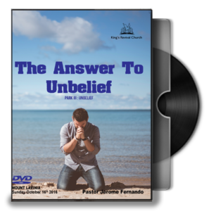 the-answer-to-unbelief