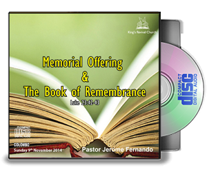 The Memorial Offering and the Book of Remembrance