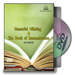 The Memorial Offering and the Book of Remembrance (DVD)