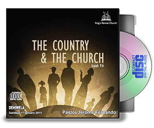The Country And The Church - Pastor Jerome