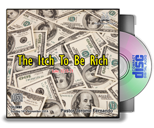 The itch to be rich