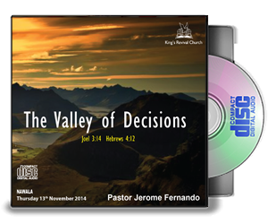 The Valley of Decisions