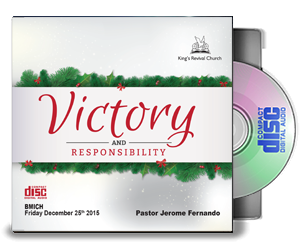 Victory And Responsibility - By Pastor Jerome