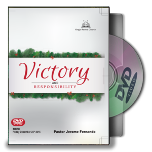 Victory And Responsibility - By Pastor Jerome (DVD)