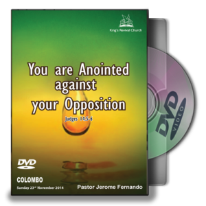 You are Anointed against your Oppsition (DVD)