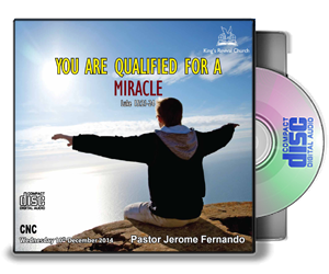 You Are Qualified For A Miracle