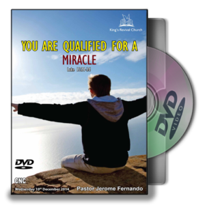 You Are Qualified For A Miracle (DVD)