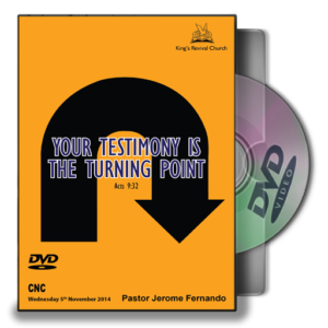 Your Testimony is your Turning Point (DVD)