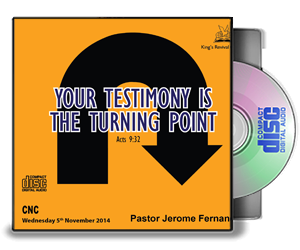 Your Testimony is your Turning Point