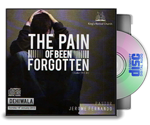 The Pain Of Been Forgotten
